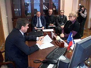 Мэр Воронежа Сергей Колиух принимал жалобы от горожан
