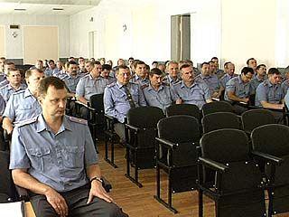 Милиционеры Борисоглебска подвели итоги работы с начала года