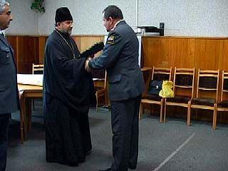Митрополит поблагодарил воронежских милиционеров за оперативность