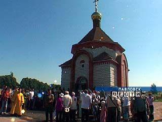 Митрополит Сергий освятил часовню на Павловском кладбище