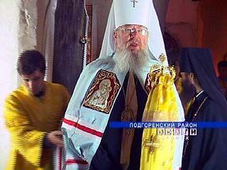 Митрополит Сергий посетил Спасский женский монастырь в Костомарово