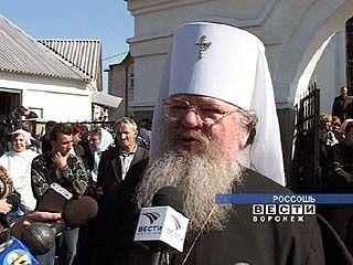 Митрополит Сергий проведет литургию в Ильинском храме Россоши