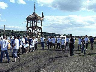 """""""Молодая Гвардия"""" посетила лагерь """"Казачок"""""""