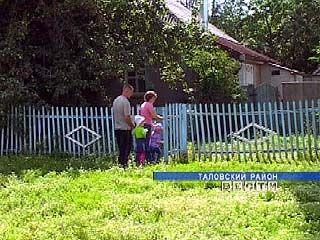 Молодая семья из Таловского района готовится к новоселью