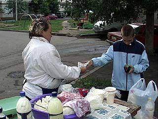 Молоко с доставкой на дом в Воронеже идет на ура