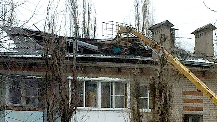 В Воронеже обрушилась крыша пятиэтажки