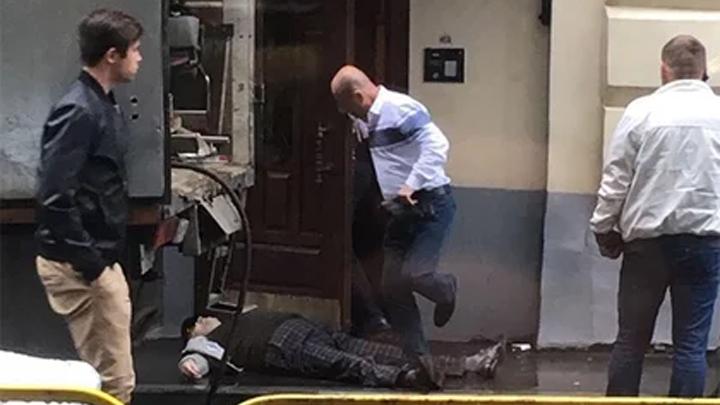 Убийство экс-главы воронежской армянской диаспоры в Москве попало на видео