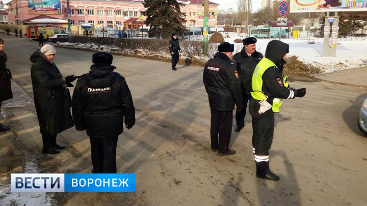 В Воронеже из-за угрозы взрыва к Центральному автовокзалу съехались спецслужбы