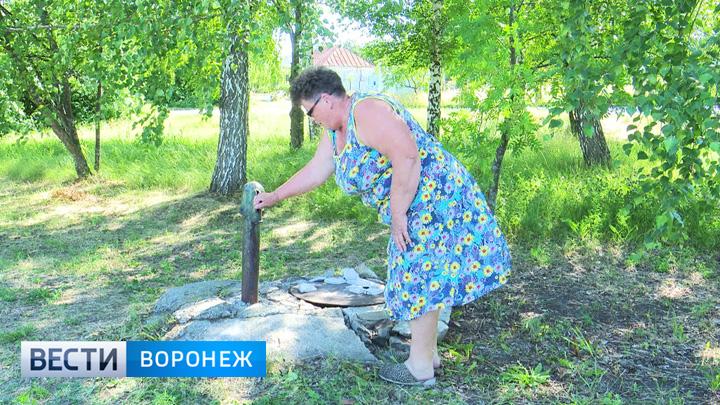 Жители воронежского села в жару регулярно остаются без воды