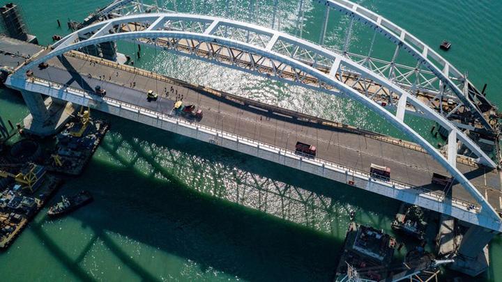 Стала известна дата открытия Крымского моста с воронежской автодорожной аркой