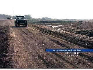 На 70-тиметровую переправу ушли тонны щебня и песка