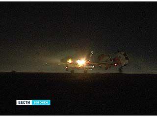 """На """"Балтиморе"""" отрабатывают навыки пилотирования самолетов ночью"""