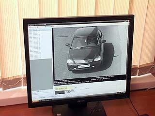 На базе ГИБДД Центрального района оборудован центр видеофиксации