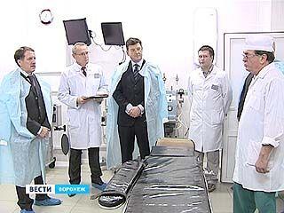 На базе поликлиники ╧7 открылся центр урологической помощи