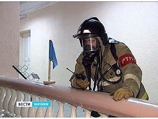 На базе второго корпуса ВГУ прошли спасательные учения