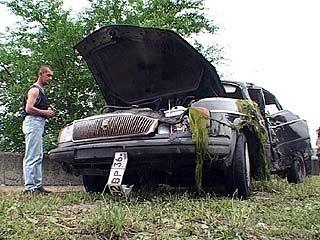 На дамбе Воронежского водохранилища произошла авария