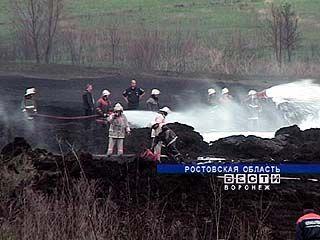 На границе Воронежской и Ростовской областей произошел взрыв нефтепровода