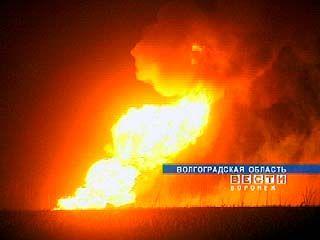 На границе Воронежской и Волгоградской областей взорвался газопровод