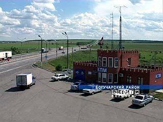 На границе Воронежской области остановлена крупная партия наркотиков