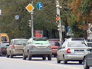 На крупнейших улицах Воронежа двое суток не работали светофоры
