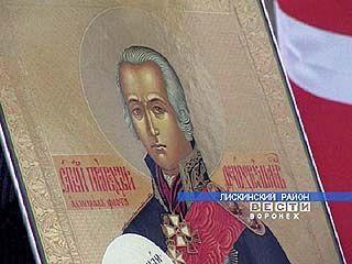 На месте первой флотской верфи прошел молебен в честь адмирала Ушакова