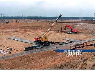 На месте строительства Нововоронежской АЭС-2 появился огромный котлован