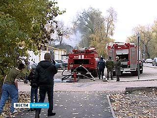 На минувших выходных сгорела двухэтажка на улице Ленинградской