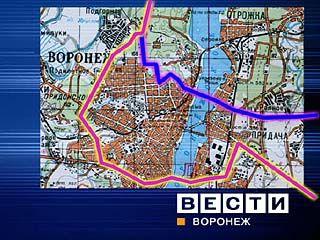 На мосту через реку Воронеж продолжаются ремонтные работы
