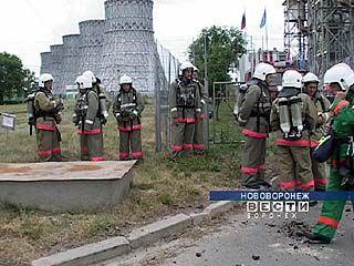 На Нововоронежской АЭС прошли учения