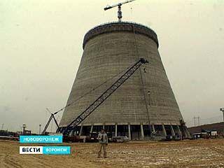 На НВАЭС-2 возводят башенную испарительную градирню нового поколения
