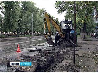 На одной из самых проблемных дорог в Воронеже начался ремонт