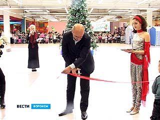 На одну ледовую площадку в Воронеже стало больше