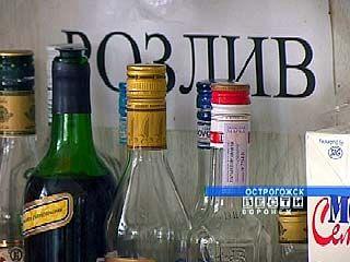 На Острогожском автовокзале ведется незаконная торговля алкоголем