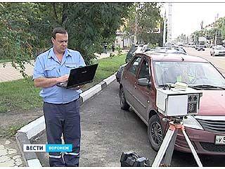 На пешеходных переходах в Воронеже появляются камеры видеофиксации