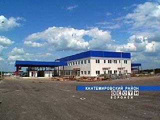 """На пограничной комендатуре """"Кантемировка"""" строится новый пункт контроля"""