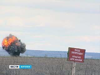 На полигоне Погоново приостановлен подрыв просроченных боеприпасов