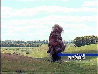 На полигоне Погоново снова уничтожали боеприпасы