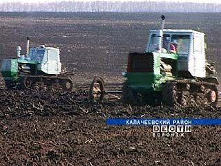 На полях Воронежской области завершается боронование