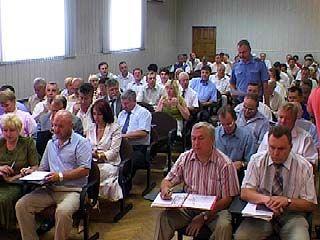 На повестке дня в мэрии - благоустройство Воронежа