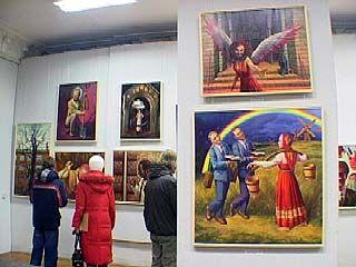 На Пушкинской открылась выставка работ художника Владимира Лошакова