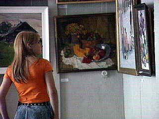 На Пушкинской открыта экспозиция воронежских художников