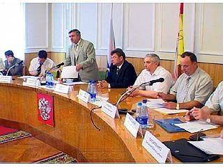 На совещании комиссии обсудили развитие ПК в Воронежском крае
