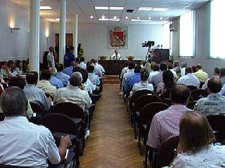 На совещании в мэрии обсуждали День города и подготовку к зиме