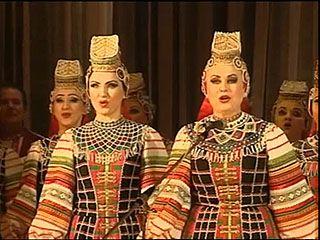 На сцене Воронежского театра оперы и балета состоялось выступление хора Масалитинова