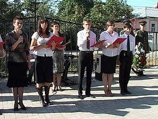 На Терновом кладбище Воронежа прошел митинг памяти