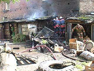 На территории Воронежской области два человека погибли в пожаре