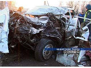 На территории Воронежской области в ДТП погибли два человека