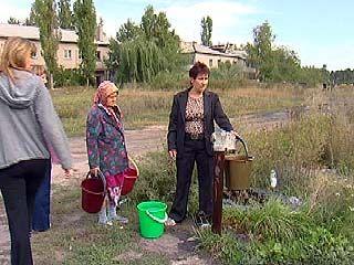 На улице Пятилетка в Репном большой спрос на воду