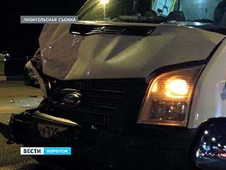 На виадуке у Заставы столкнулись 3 автомобиля