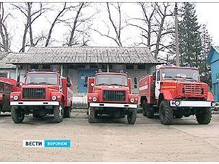 На вооружении Воронежского лесопожарного центра теперь новая техника